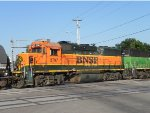 BNSF 2797 (EMD GP39-2 H1) trails on Wichita Local with BNSF 1400 Leading